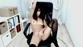BellaPark – Naughty Asian Likes It In The Chair