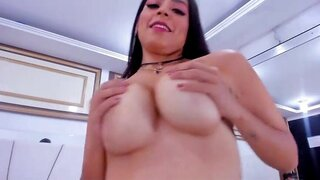 AbigailTaylor – Cute Latina Playing with Her Dildo